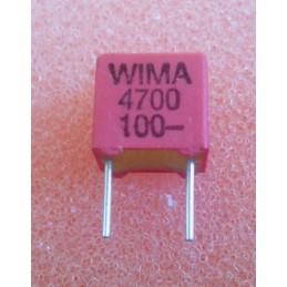 WIMA FKP2 4.7n 100V 5.5x7x7.2mm 2.5%