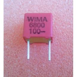 WIMA FKP2 6.8n 100V 5.5x7x7.2mm 2.5%