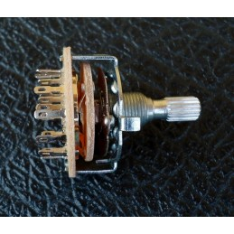 4P3T Rotary Switch