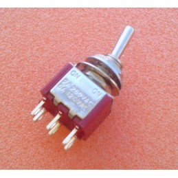 DPDT ON-ON Toggle Switch