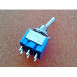 DPDT ON-ON-ON Toggle Switch