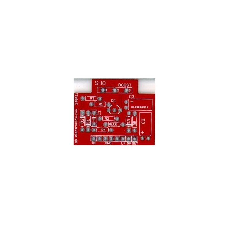 SHO Booster PCB