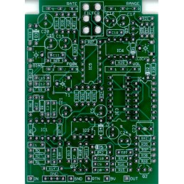 Electric Flanger Green PCB