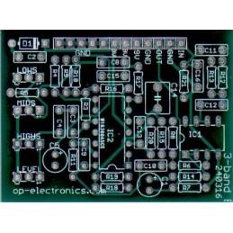 3-band EQ PCB