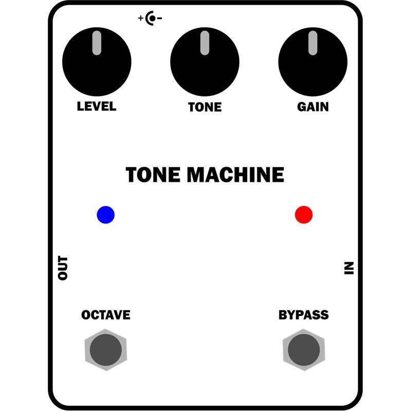Tone Machine Fuzz Octave KIT