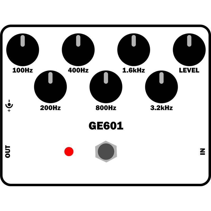 GE-601 Graphic Equalizer KIT