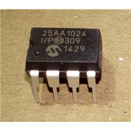 Microchip 25AA1024-I/P eeprom