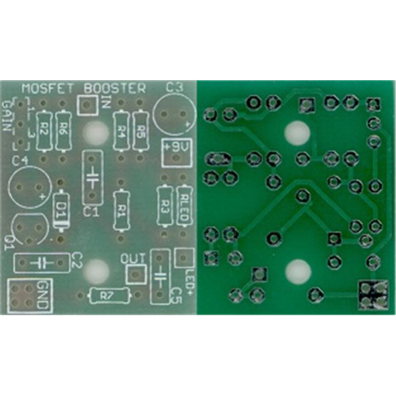Mosfet Booster PCB